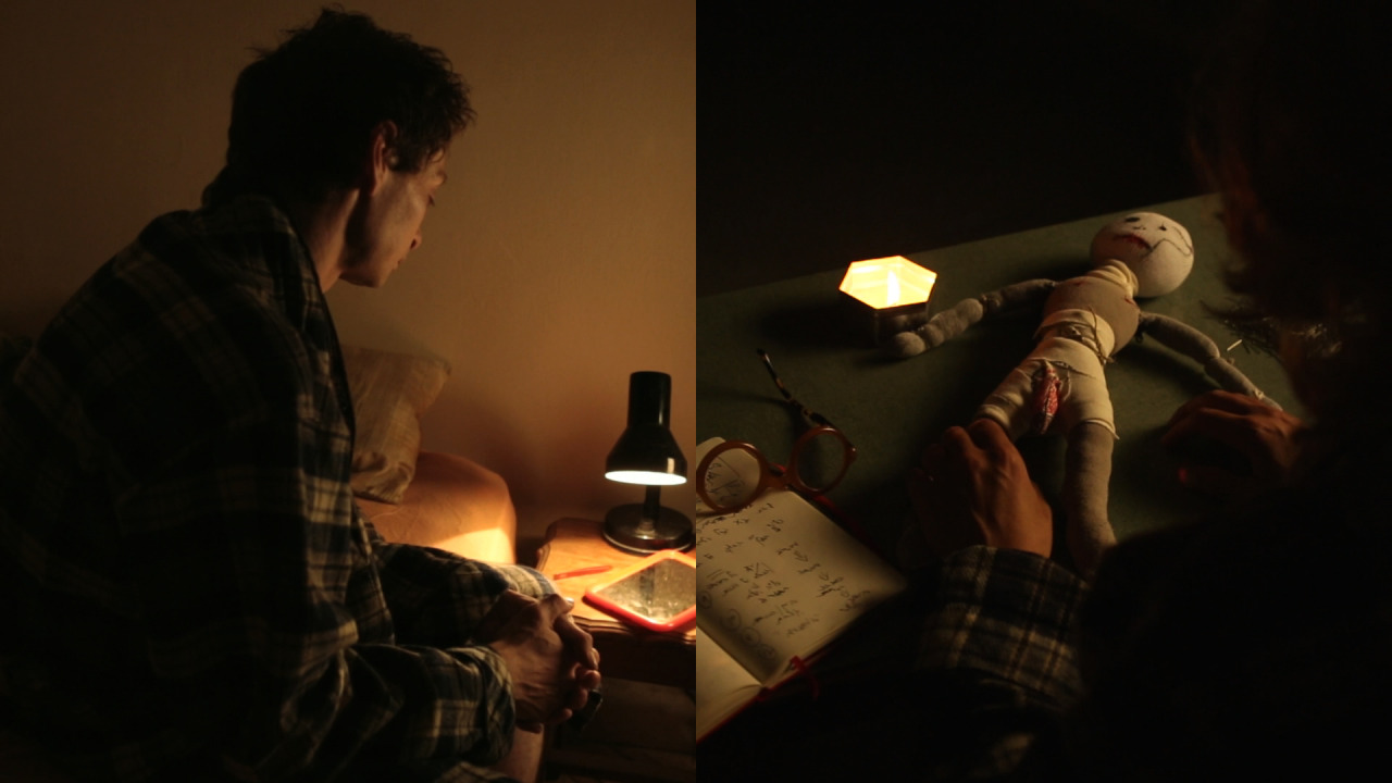 Stills from The Buried Alive Group Videos- Killing Andrey Lev, 2008, featuring Andrey Lev, 2013