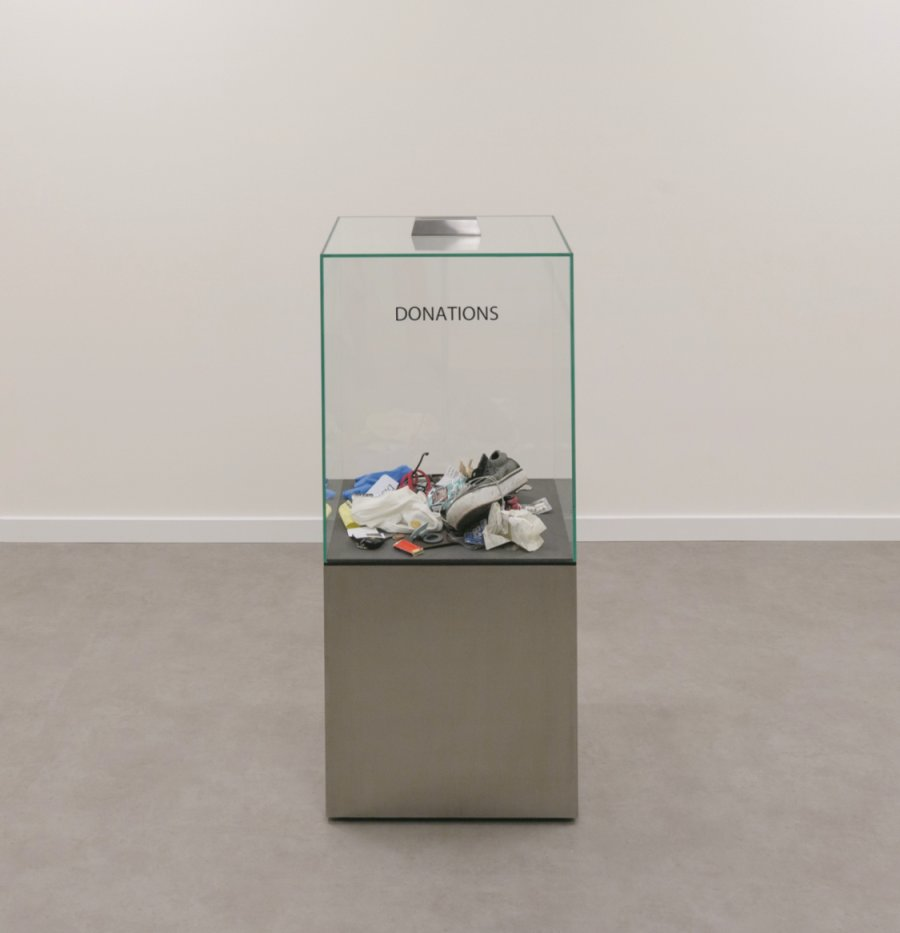 Donation Box, 2006 Courtesy Private Collection, Paris, Photo: Anders Sune Berg